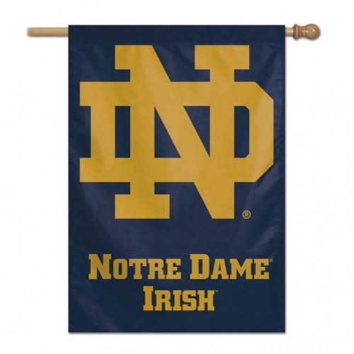 Notre Dame Fighting Irish Banner 28x40 Vertical