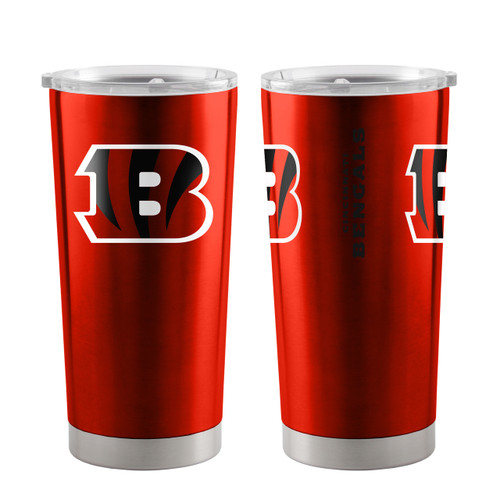 Cincinnati Bengals Travel Tumbler 20oz Ultra Orange