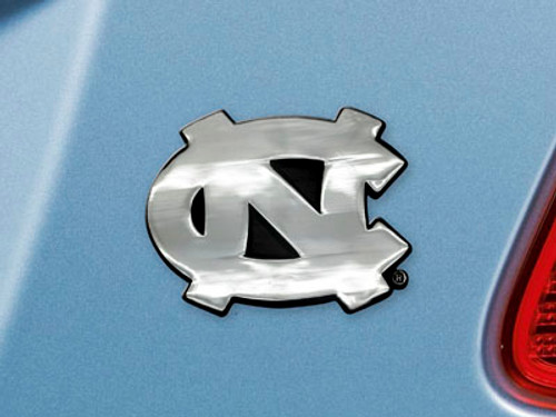North Carolina Tar Heels Auto Emblem Premium Metal FanMats