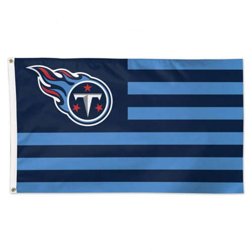 Tennessee Titans Flag 3x5 Deluxe Americana Design
