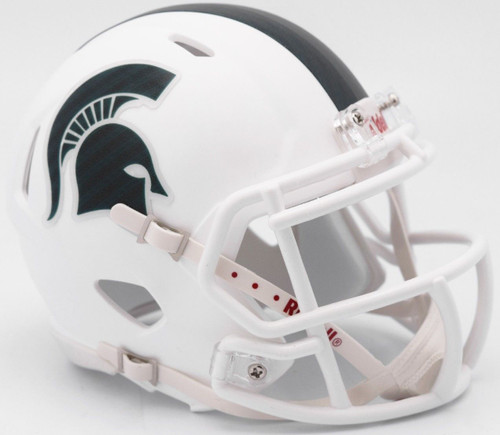 Michigan State Spartans Helmet Riddell Replica Mini Speed Style 2017 Alternate