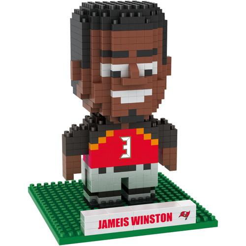 Tampa Bay Buccaneers Puzzle 3D BRXLZ Jameis Winston #3 Design Special Order