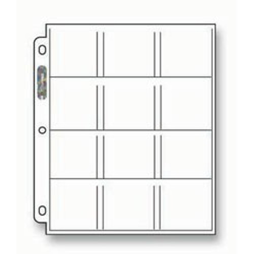 Ultra Pro 12-Pocket Pages - 212D (100ct)