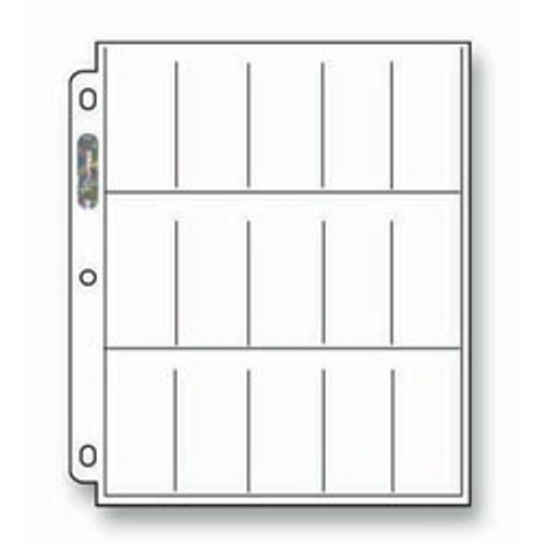Ultra Pro 15-Pocket Pages - 215D (100ct)
