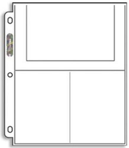 Ultra Pro 3-Ultra Pro Pocket Postcard Pages - 246D (100ct)