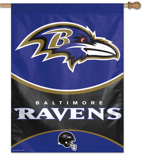 Baltimore Ravens Banner 27x37