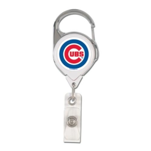 Chicago Cubs Retractable Premium Badge Holder