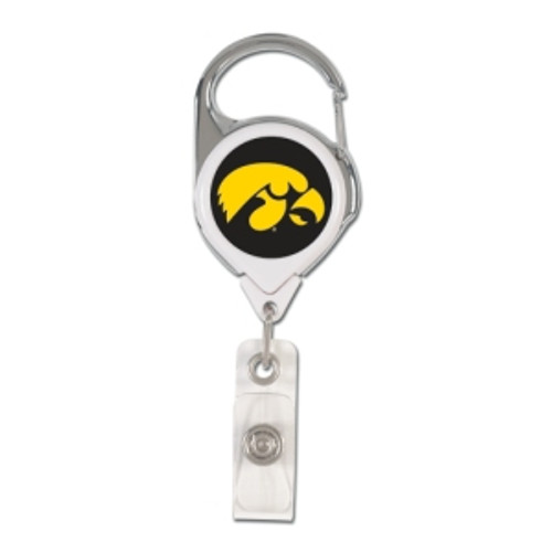 Iowa Hawkeyes Retractable Premium Badge Holder