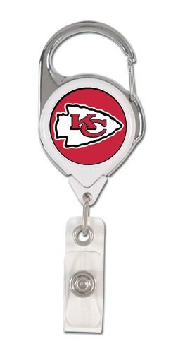 Kansas City Chiefs Retractable Premium Badge Holder