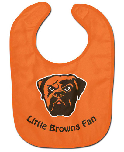 Cleveland Browns All Pro Little Fan Baby Bib