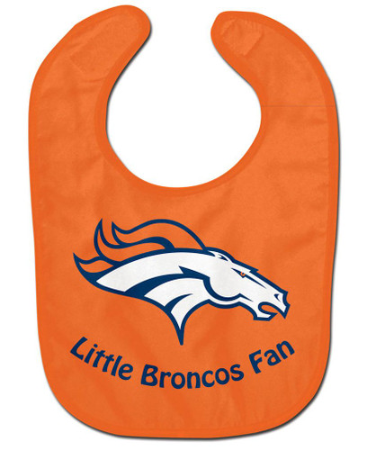 Denver Broncos All Pro Little Fan Baby Bib