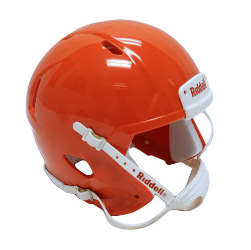 Riddell Speed Blank Mini Football Helmet Shell - Burnt Orange