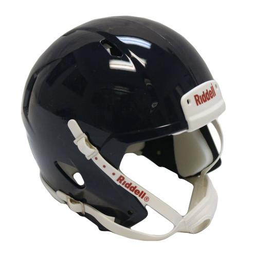 Riddell Speed Blank Mini Football Helmet Shell - Navy Blue