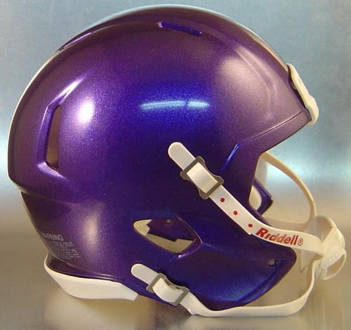 Riddell Speed Blank Mini Football Helmet Shell - Purple