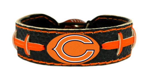 Chicago Bears Team Color Football Bracelet