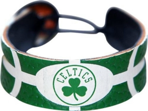 Boston Celtics Team Color Basketball Bracelet
