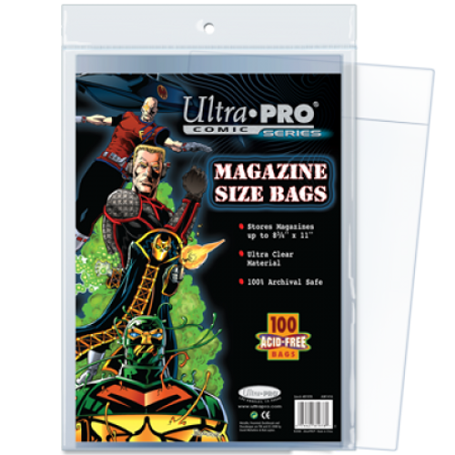 Comic Bags - Magazine (100 per pack)