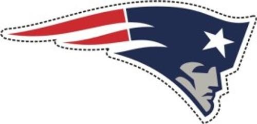 """New England Patriots 12"""" Logo Car Magnet"""
