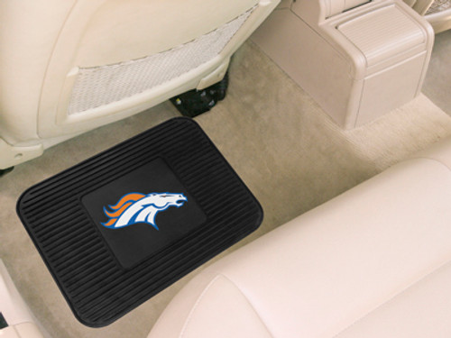 Denver Broncos Car Mat Heavy Duty Vinyl Rear Seat