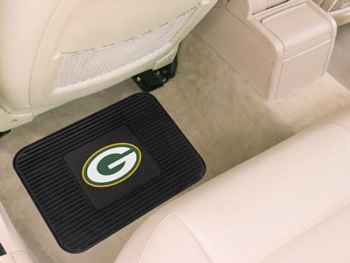 Green Bay Packers Car Mat Heavy Duty Vinyl Rear Seat