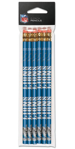 Detroit Lions Pencil 6 Pack