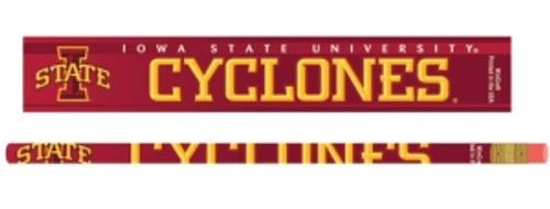 Iowa State Cyclones Pencil 6 Pack
