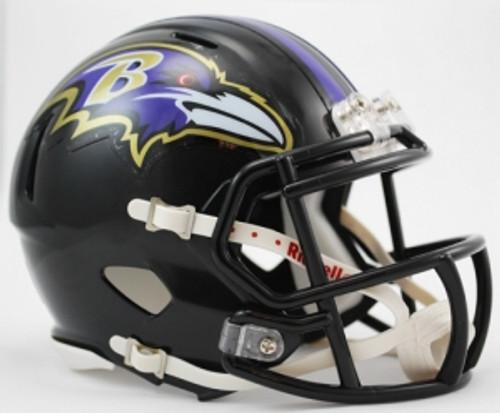 Baltimore Ravens Speed Mini Helmet