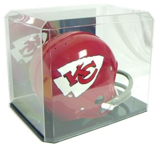 Protech Football Helmet Display Case with Mirrored Back