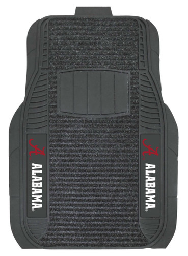 Alabama Crimson Tide Car Mats - Deluxe Set