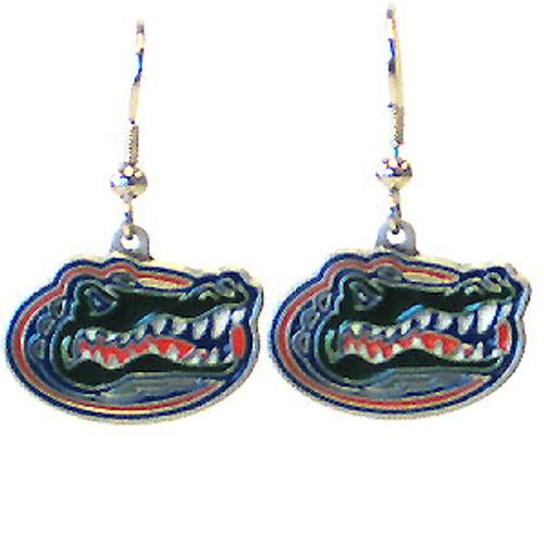 Florida Gators Dangle Earrings