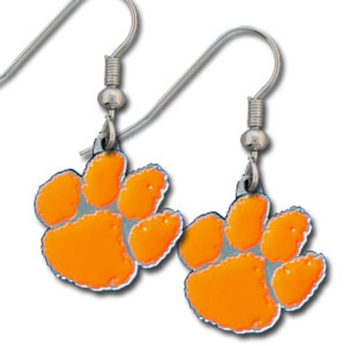 Clemson Tigers Dangle Earrings
