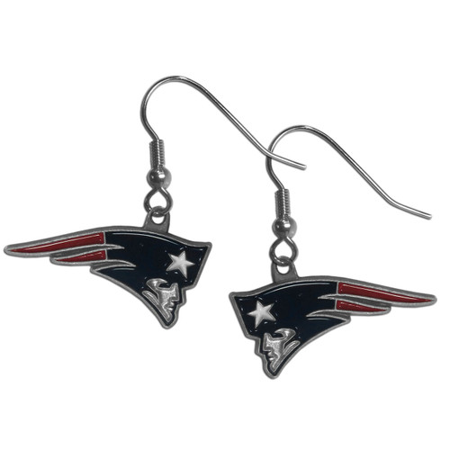 New England Patriots Dangle Earrings