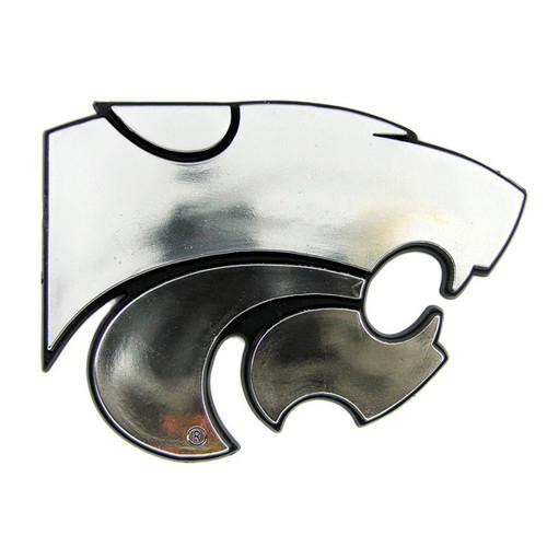 Kansas State Wildcats Auto Emblem - Silver