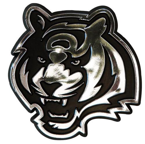 Cincinnati Bengals Auto Emblem - Silver