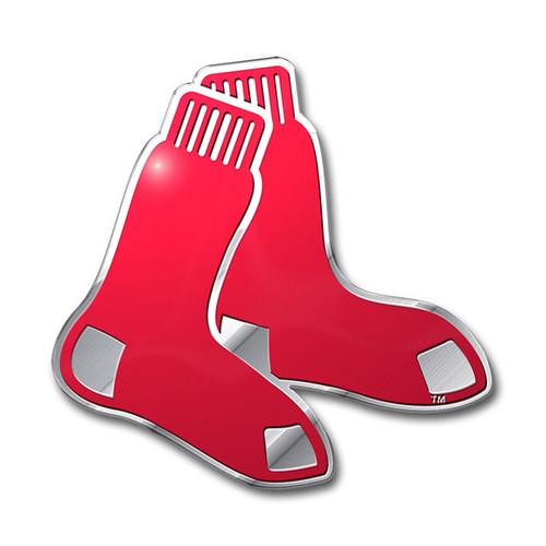 Boston Red Sox Auto Emblem - Color