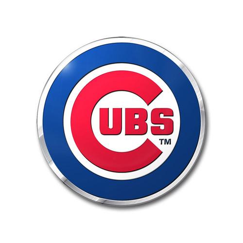 Chicago Cubs Auto Emblem - Color
