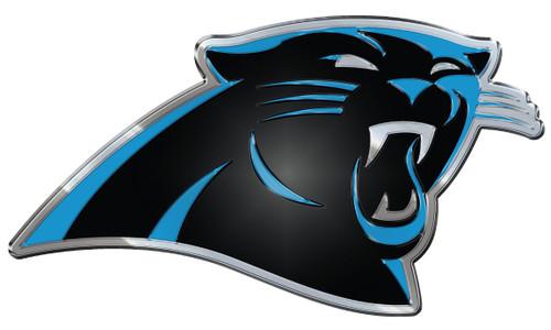 Carolina Panthers Auto Emblem - Color
