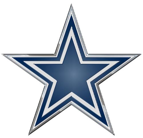 Dallas Cowboys Auto Emblem - Color