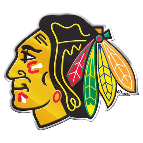 Chicago Blackhawks Auto Emblem - Color