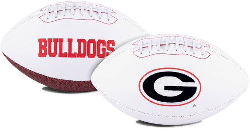Georgia Bulldogs Football Full Size Embroidered Signature Series