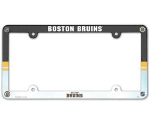 Boston Bruins License Plate Frame - Full Color