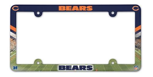 Chicago Bears Full Color License Plate Frame