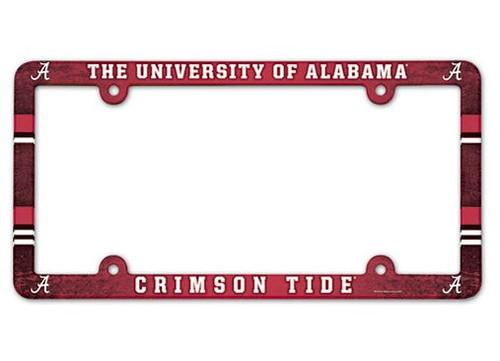 Alabama Crimson Tide License Plate Frame - Full Color