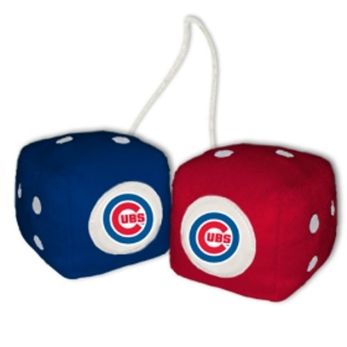 Chicago Cubs Fuzzy Dice
