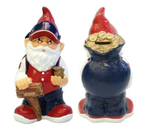 Minnesota Twins Garden Gnome - Coin Bank