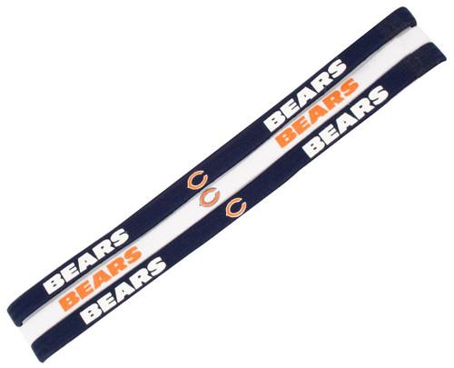 Chicago Bears Elastic Headbands