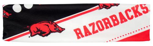 Arkansas Razorbacks Stretch Patterned Headband