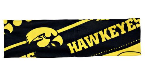 Iowa Hawkeyes Stretch Patterned Headband