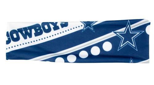 Dallas Cowboys Stretch Patterned Headband