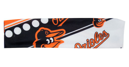 Baltimore Orioles Stretch Patterned Headband